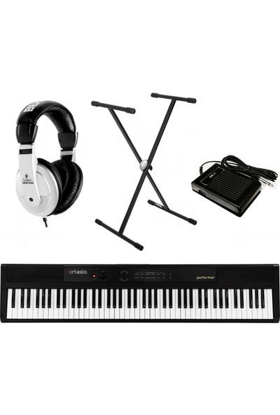 Artesia Pe-88 Dijital Piyano + Kulaklık + Stand + Pedal Set