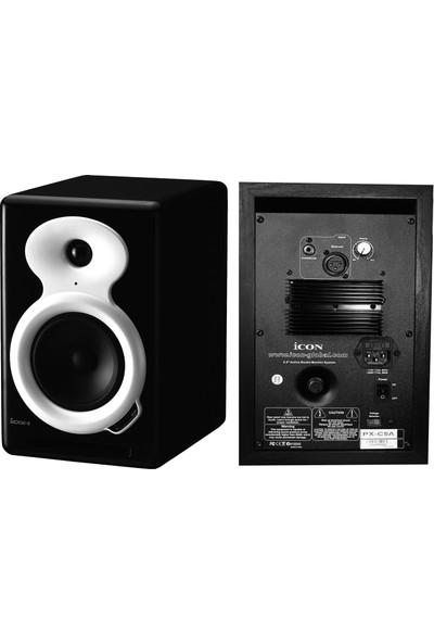 Icon PX-C5A Aktif Stüdyo Referans Monitörü (Çift)