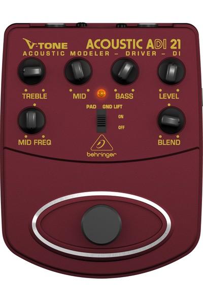 Behringer V-Tone Acoustic ADI21 Akustik Gitar Preamp / Dı Box