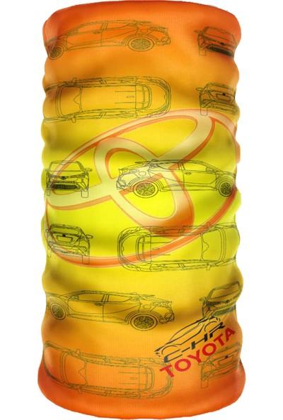 E-Taktik ® Debuff Collar Toyota C-Hr Club Buff Boyunluk Bandana Balaklava