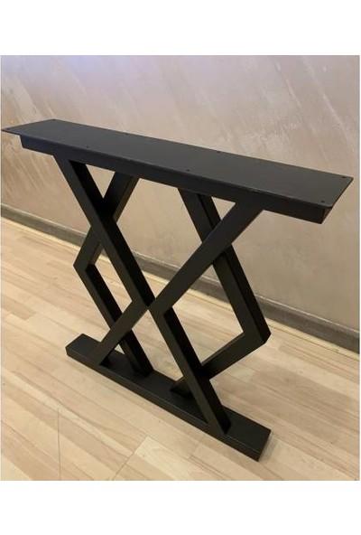 Metal Masa Ayağı Yemek Masası Ayağı Retro Tasarım Ayak Modelleri 2'li