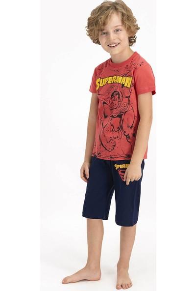 Superman Erkek Çocuk Kapri Takımı L1362-3 21Y