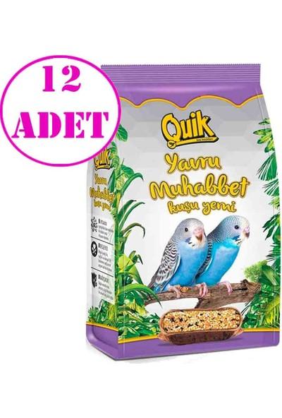 Quik Junior Yavru Muhabbet Yemi 400 gr 12 Adet