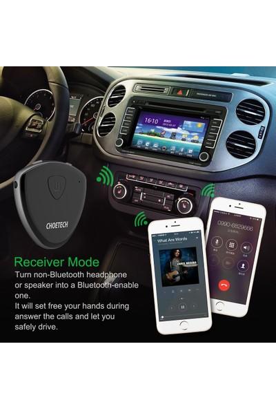 Choetech Bluetooth Receiver Transmitter Aux Araç Kiti BH-002