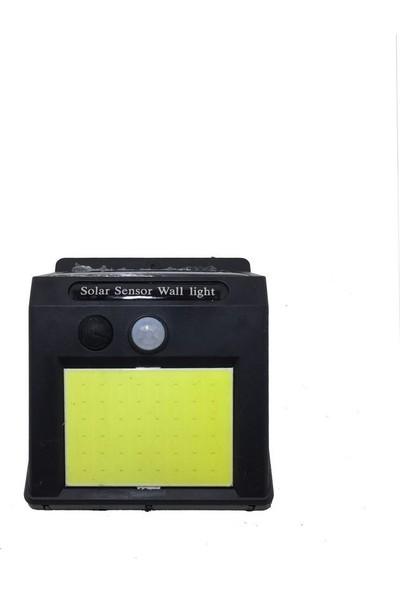 Durbuldum 48 Cob Led'li Güneş Enerjili Sensörlü Duvar ve Bahçe Lambası