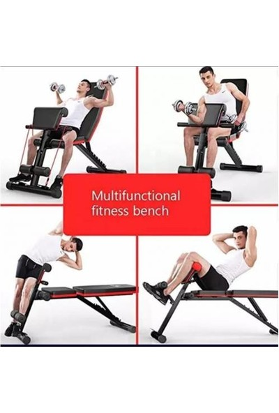 Maxtech Multiposition ve Biceps Combo Bench