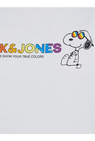 Jack&jones Jorpeanuts Pride Ss Crew Neck Erkek Tişört - 12174182