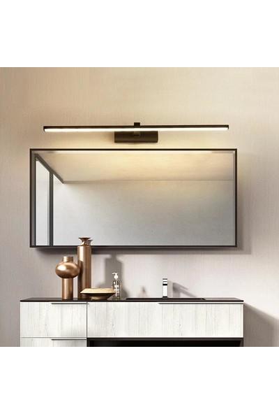 Sinem Avize Siyah Tablo Ayna Banyo Apliği Günışığı Ledli 60 cm Aplik