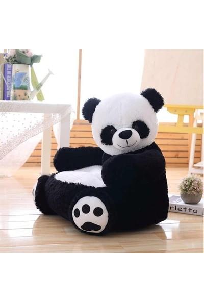 Miki Peluş Panda Bebek Çocuk Koltuğu 65 cm