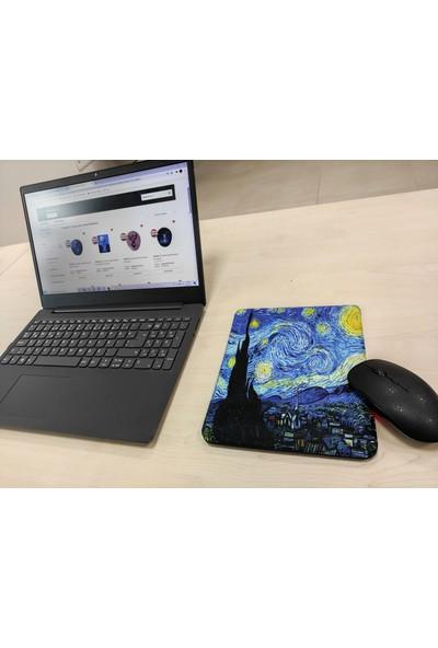 Vizyon Van Gogh Yıldızlı Gece Bilek Destekli Dikdörtgen Mousepad
