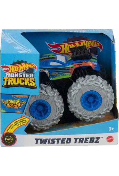 Hot Wheels Monster Trucks Çek Bırak Arabalar GVK37 - Rodger Dodger Mavi