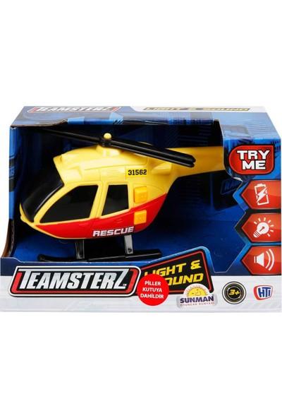Teamsterz Sesli ve Işıklı Şehir Araçları - Helikopter