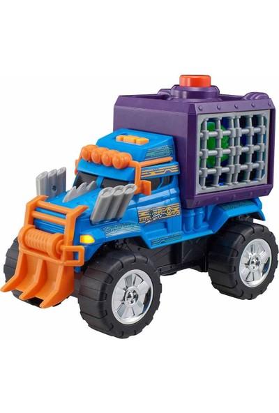Teamsterz Monster Moverz Alien Escape Sesli ve Işıklı Motorize Kamyon 27 cm