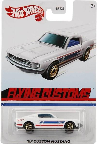 Hot Wheels Temalı Retro Arabalar GRT22 - '67 Custom Mustang