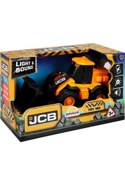 Teamsterz Jcb Sesli ve Işıklı Inşaat Araçları - Dozer