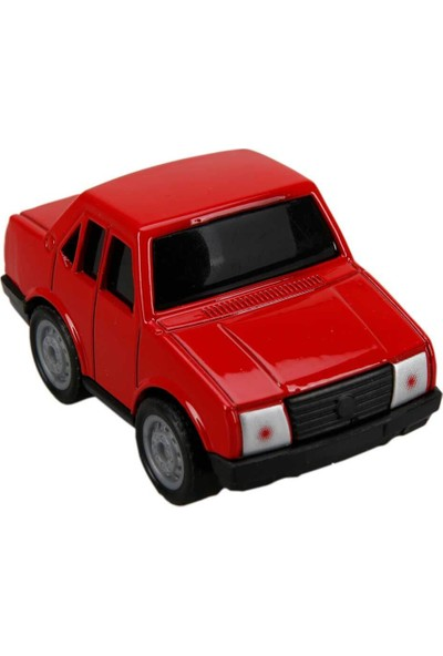 Maxx Wheels Model Arabalar 6,5 cm - Kırmızı