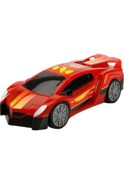 Maxx Wheels Sesli ve Işıklı Laser Wheels Araba 22 cm - Kırmızı