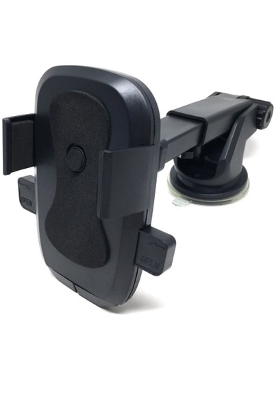 Jetfast Torpido Üstü Vantuzlu Cam Teleskopik Araç Içi Oto Telefon Tutucu