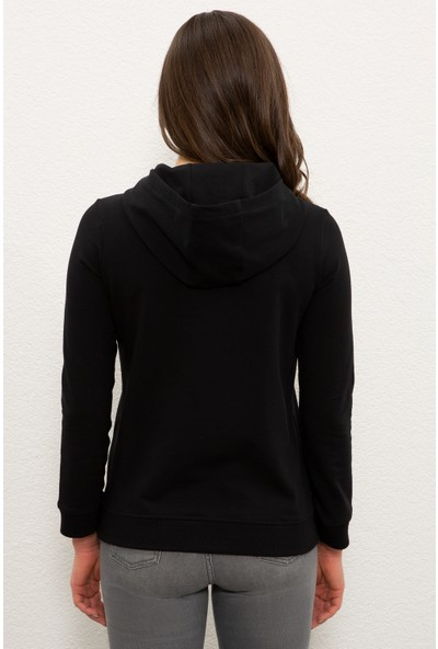 U.S. Polo Assn. Siyah Sweatshirt 50233388-VR046