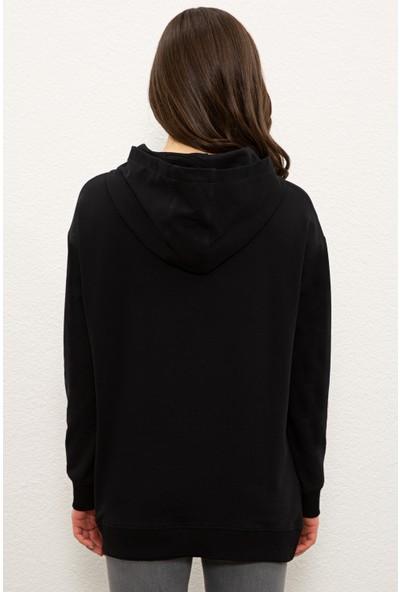 U.S. Polo Assn. Siyah Sweatshirt 50233403-VR046