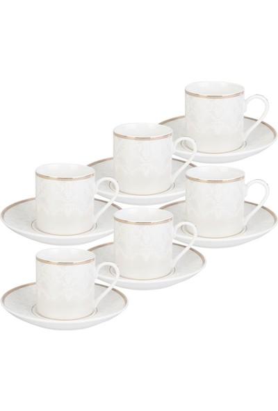 Emsan Vefa 6 Kişilik Kahve Fincan Takımı