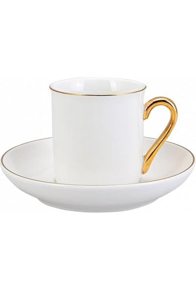 Emsan Royal Gold 6lı Kahve Fincan Takımı
