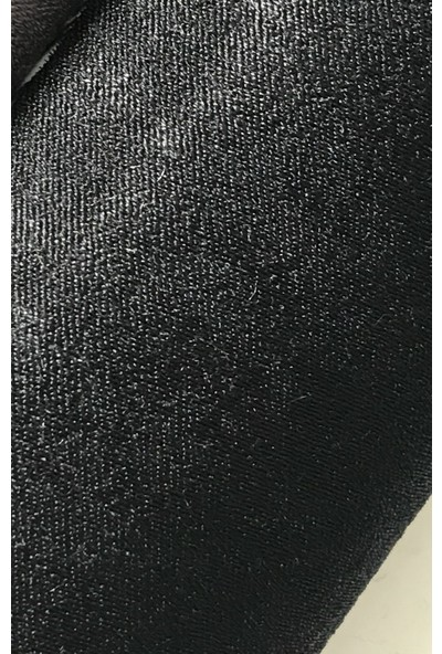 Perle Home Elegance Series Siyah Fon Perde 150X260 Ekstrafor Büzgülü