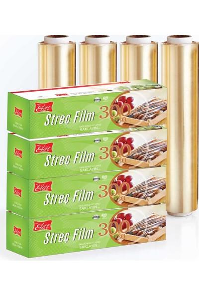 Atılım Elitt Gıda Streç Film 30 cm x 300 mt 4 Paket