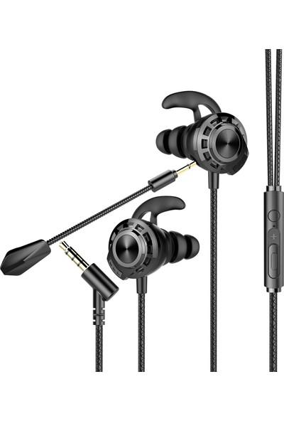 Rampage RM-K36 Proud 3,5mm Kulak Içi Mikrofonlu Kulaklık Siyah
