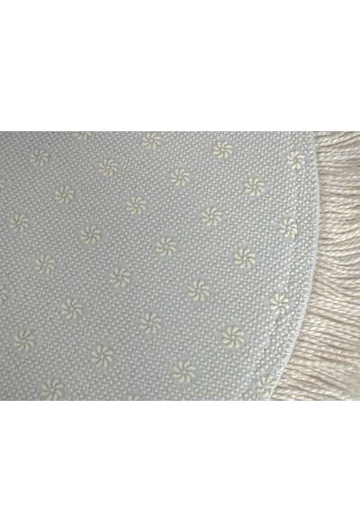 Seroni Home Textile Sempati Filamingo Ince Saçaklı 80X120 Paspas