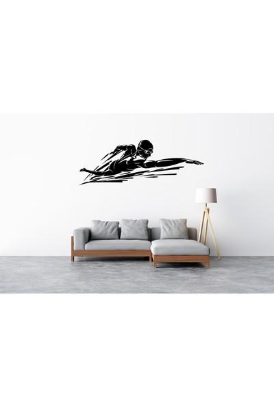 Ega Yüzücü Duvar Stickerı (Ega)