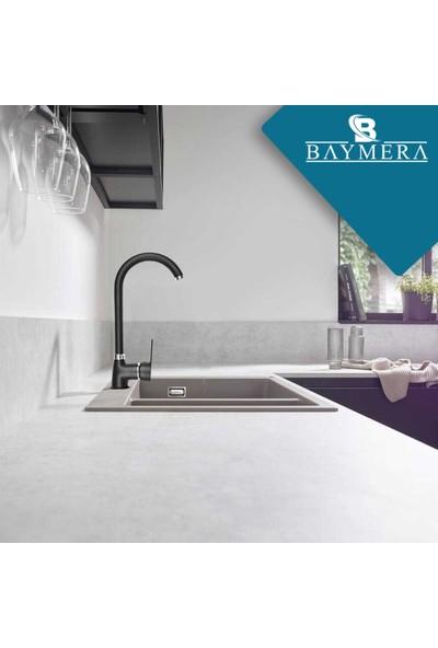Baymera Delta Serisi Siyah Kuğu Mutfak Bataryası