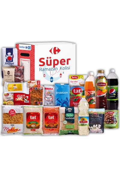 Carrefour Süper Ramazan Kolisi