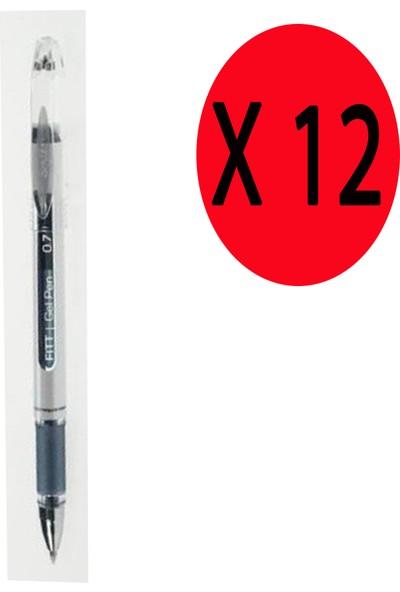 Scrikss Tükenmez Kalem Fıtty Jel 0.7 mm 12'li Mavi