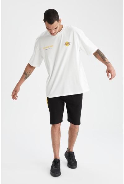 DeFacto Oversize Fit Nba Lisanslı Tişört