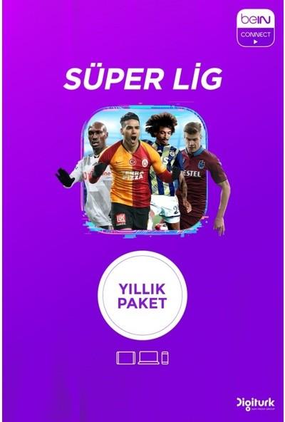 BeIN Connect Yıllık Süper Lig Paketi - 3 Ekran(Web+ Cep+ Tablet)