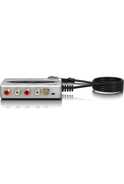 Behringer U-Phono UF0202 Pikap Amfisi ve USB Ses Kartı