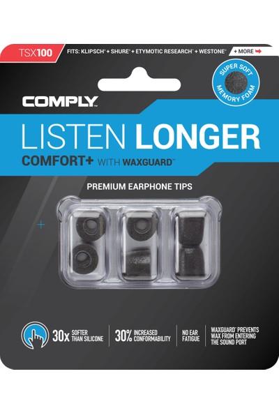 Comply Foam TSX-100 Konfor Plus Kulaklık Ucu (L) - 3 Çift