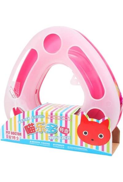 Happy Circle Kedi Fare Oyunu Toplu Spiralli 25 cm Pembe