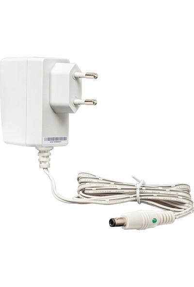 Sunny SYS1381-1005-W2E Beyaz 5 Volt 2 Amper 5.5*2.5 Yaylı Uçlu Ledli Adaptör