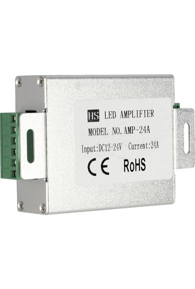 Hıghtek Ht-Lc-24 Dc 12-24V Rgb Şerit LED Repeater Sinyal Kuvvetlendirici Amplifier 24 Amper