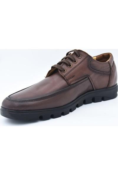 Scarpe Sano Erke Günlük Bağcıklı Deri Ayakkabı 122-Scarpe Sano