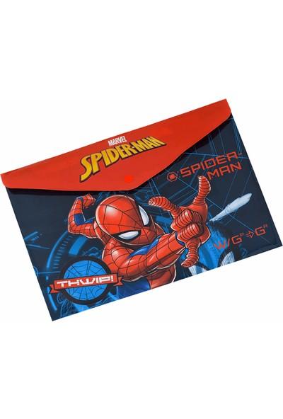 Frocx Çıtçıtlı Dosya A4 - Spiderman OTTO-43506