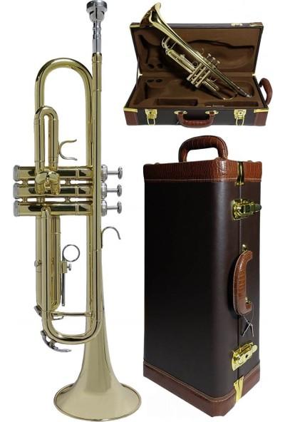 Midex TP-5005CS Profesyonel Bb Trompet Si Bemol (Sib) Prof Çantalı