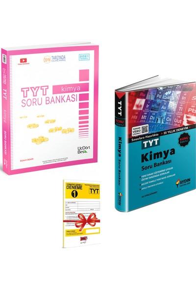 345 TYT Kimya Soru Bankası ve Aydın TYT Kimya Konu Özetli Soru Bankası Seti + Deneme