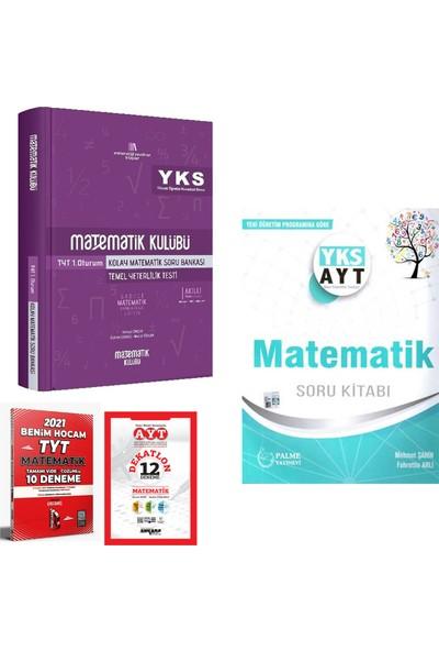 Matematik Kulübü TYT 1 Kolay Matematik ve Palme AYT Matematik Soru Kitabı + Deneme