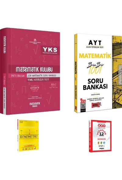 Matematik Kulübü TYT Zor Matematik ve Yargı AYT Matematik 1001 Soru Bankası + Deneme