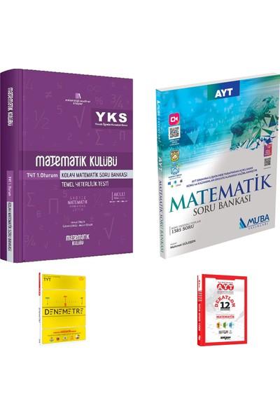 Matematik Kulübü TYT Kolay Matematik ve Muba AYT Matematik Soru Bankası + Deneme