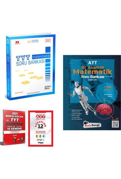 345 Yayınları TYT Matematik Soru Bankası Kafa Dengi AYT Matematik Soru Bankası + Deneme