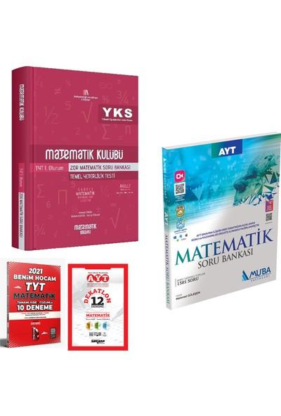 Matematik Kulübü TYT 1 Zor Matematik ve Muba AYT Matematik Soru Bankası + Deneme
